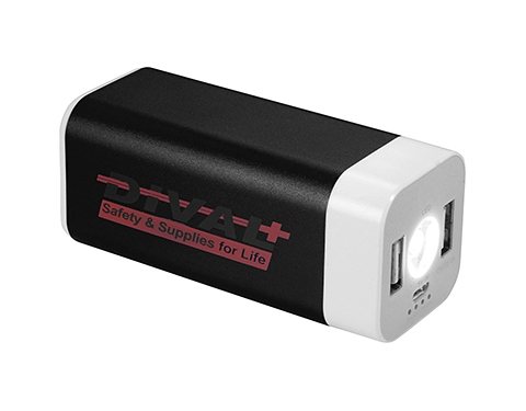 Austin Mega Flashlight Power Bank - 8000mAh