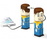 Power Man Power Bank - 2500mAh  by Gopromotional - we get your brand noticed!