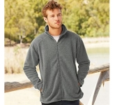 Fruit Of The Loom Mens Full Zip Fleece  by Gopromotional - we get your brand noticed!
