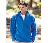 Fruit Of The Loom Half Zip Fleece  by Gopromotional - we get your brand noticed!