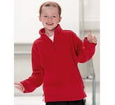 Jerzees Schoolgear Children's Quarter Zip Fleece  by Gopromotional - we get your brand noticed!