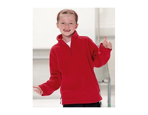 Jerzees Schoolgear Kids Quarter Zip Fleece Sweatshirt