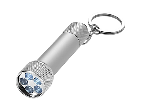 Promotional Sagittarious Led Keyring Torch Printed With