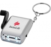 Allegro Dynamo Keyring Torch  by Gopromotional - we get your brand noticed!