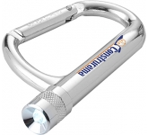 Carabiner LED Keychain Light  by Gopromotional - we get your brand noticed!