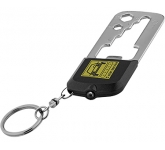 Casper 8 Function Multi Tool LED Keychain Light  by Gopromotional - we get your brand noticed!