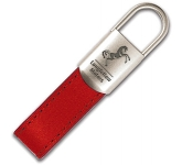 Monaco Leather Keyring  by Gopromotional - we get your brand noticed!