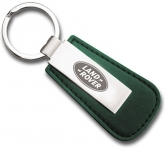 Leather Nitro Series Corporate Metal Keyring