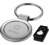 Jakarta Round Metal Keyring  by Gopromotional - we get your brand noticed!