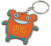2D Soft Flexible PVC Keyring  by Gopromotional - we get your brand noticed!