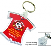 Deluxe Smart Fob Sports Kit Plastic Keyring  by Gopromotional - we get your brand noticed!