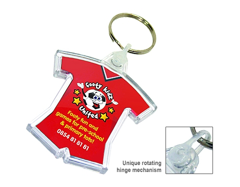 Deluxe Smart Fob Printed Sports Kit Plastic Keyring