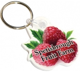 Bespoke Shaped Acrylic Keyring  by Gopromotional - we get your brand noticed!