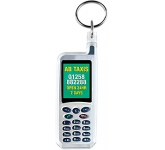 Mobile Phone Shaped Acrylic Plastic Keyring  by Gopromotional - we get your brand noticed!