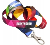 20mm Express Dye Sublimation Flat Polyester Lanyard