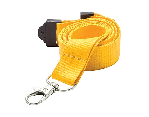 20mm Express Branded Flat Polyester Lanyards