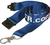20mm Flat Weave Nylon Lanyard  by Gopromotional - we get your brand noticed!