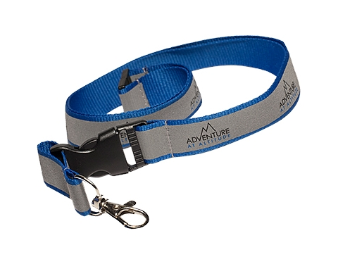 20mm Reflective Polyester Lanyards