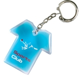 T-Shirt Shaped Liquid Keyring
