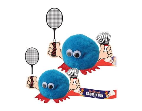 Badminton Handholder Logo Bug