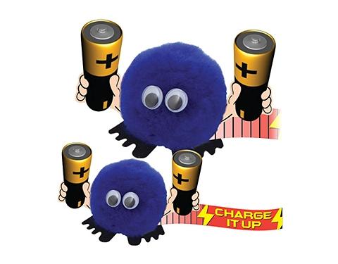 Batteries Handholder Logo Bug
