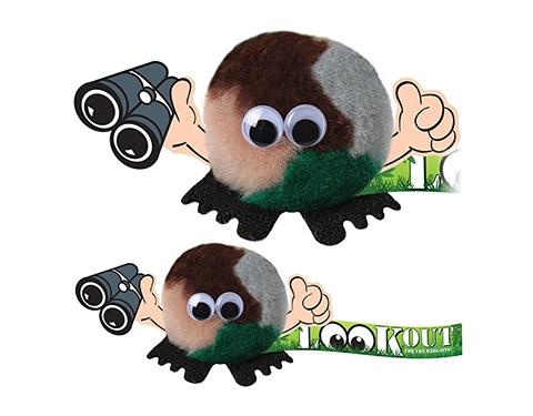 Binoculars Handholder Logo Bug