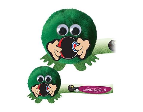 Bowling Handholder Logo Bug