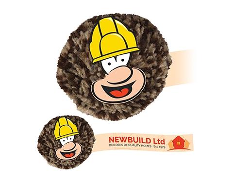 Builder Mophead Card Face Logo Bug