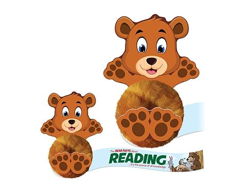 Card Head Bear Logo Bug