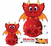 Card Head Dragon Logo Bug  by Gopromotional - we get your brand noticed!