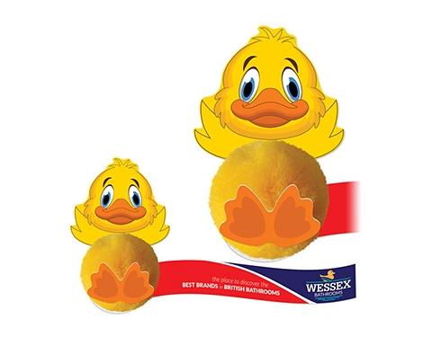 Card Head Duck Logo Bug