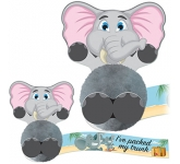 Card Head Elephant Logo Bug  by Gopromotional - we get your brand noticed!