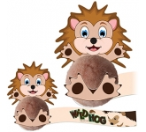 Card Head Hedgehog Logo Bug  by Gopromotional - we get your brand noticed!