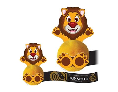 Card Head Lion Logo Bug