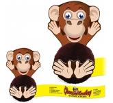 Card Head Monkey Logo Bug