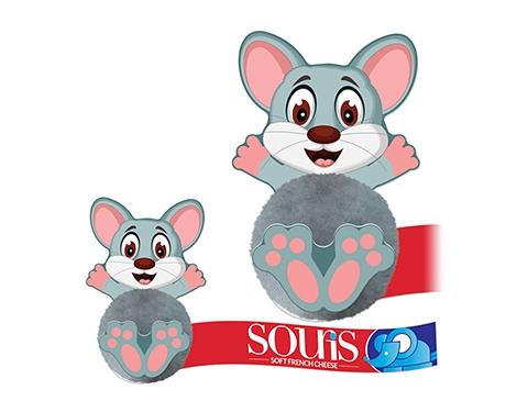 Card Head Mouse Logo Bug