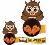 Card Head Owl Logo Bug