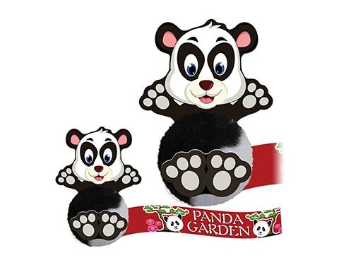 Card Head Panda Logo Bug