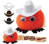 Cowboy Hatted Logo Bug