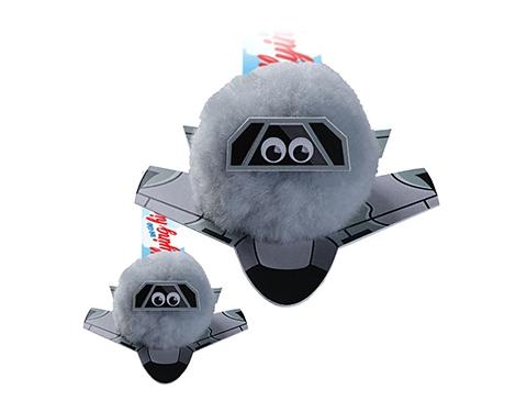 Fighter Jet Logo Bug