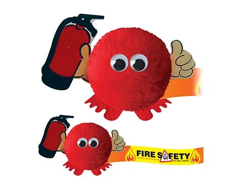 Fire Extinguisher Handholder Logo Bug