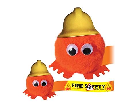 Firefighter Hatted Logo Bug