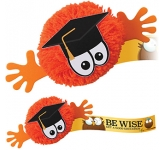 Graduate Mophead Character Logo Bug  by Gopromotional - we get your brand noticed!