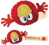 Hard Hat Mophead Character Logo Bug  by Gopromotional - we get your brand noticed!