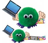 Laptop Handholder Logo Bug  by Gopromotional - we get your brand noticed!