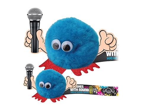 Microphone Handholder Logo Bug