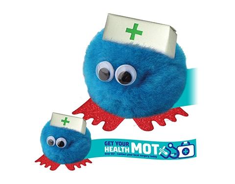 Nurse Hatted Logo Bug
