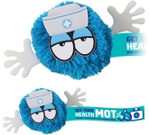 Nurse Mophead Character Logo Bug  by Gopromotional - we get your brand noticed!