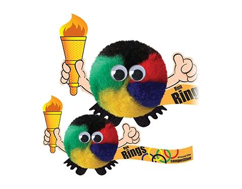 Olympic Torch Handholder Logo Bug