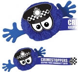 Policeman Mophead Character Logo Bug  by Gopromotional - we get your brand noticed!